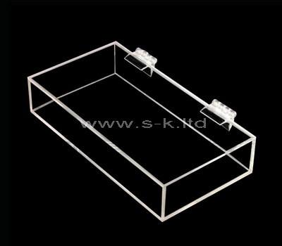 SKLS-001-1 Acrylic box with hinged lid