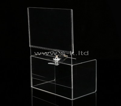 clear ballot box