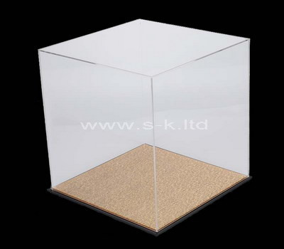 white display case