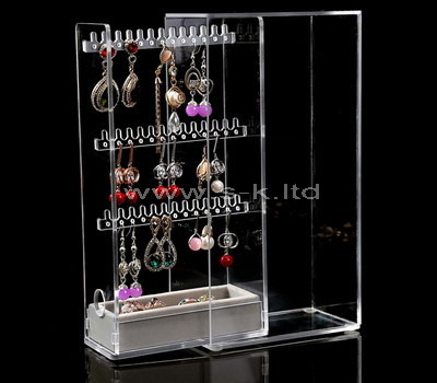 SKLD-109-1 clear jewelry case