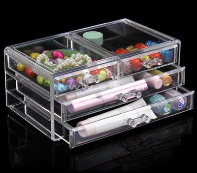 clear makeup drawer organizer