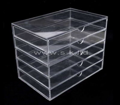 5 drawer acrylic makeup organizer