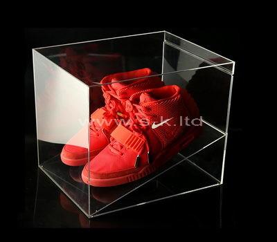clear plastic shoe box storage