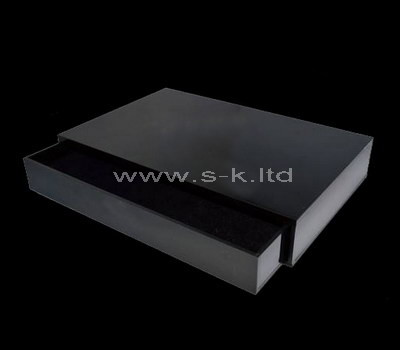 storage box with lid black