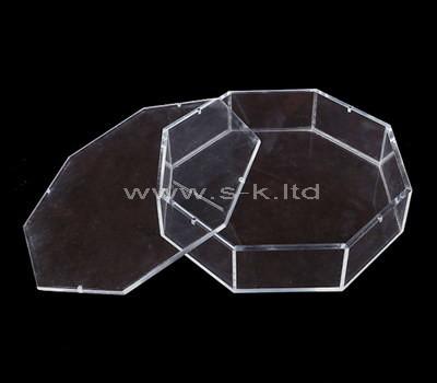 SKLS-053-1 plastic octagon box