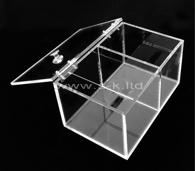 rectangular storage box with lid