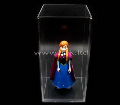 clear plastic doll display cases