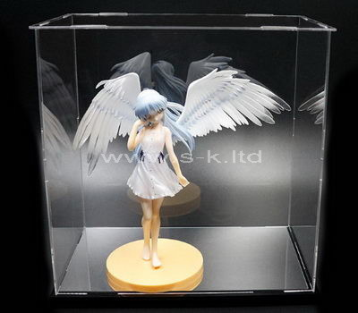 Acrylic display case for angel