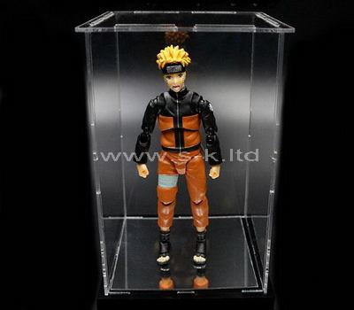 plastic doll display case