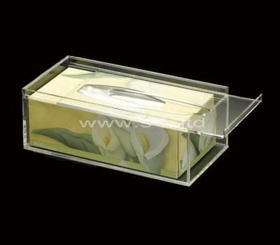 clear tissue box