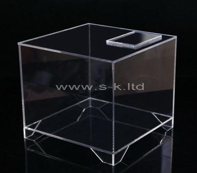 large acrylic box
