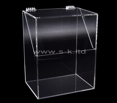 tall storage box with lid