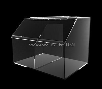 clear compartment storage box