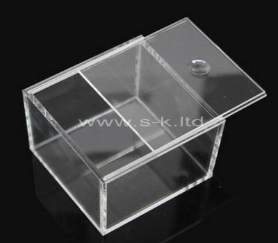 storage box with sliding lid