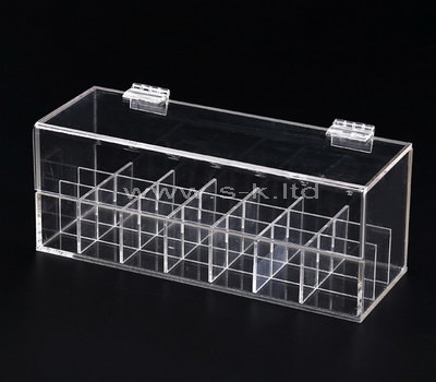 compartment box with lid