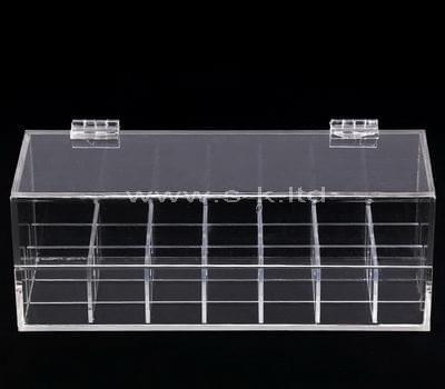 acrylic 7 compartment box