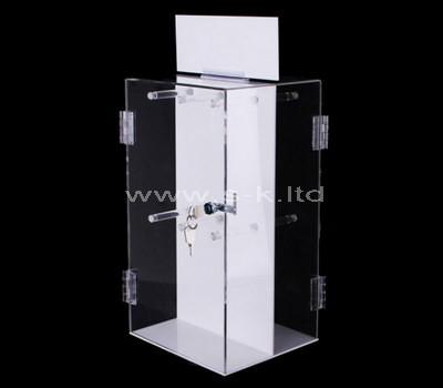 locking retail display case