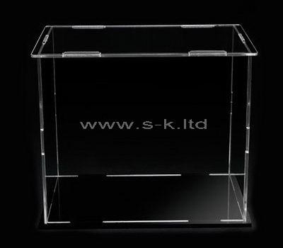 transparent acrylic display case
