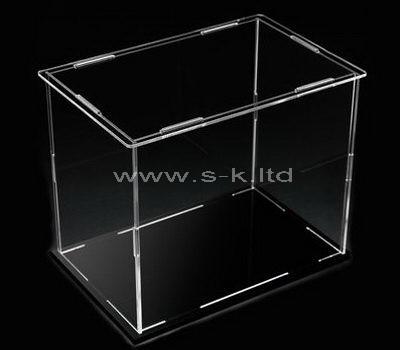 clear plexiglass display case