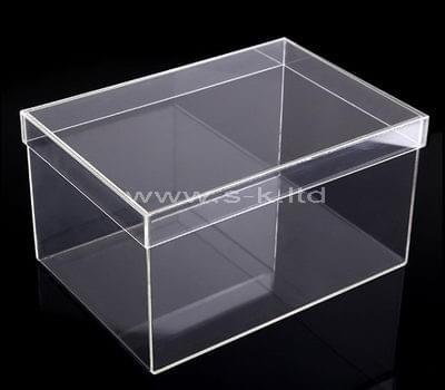transparent lucite display case