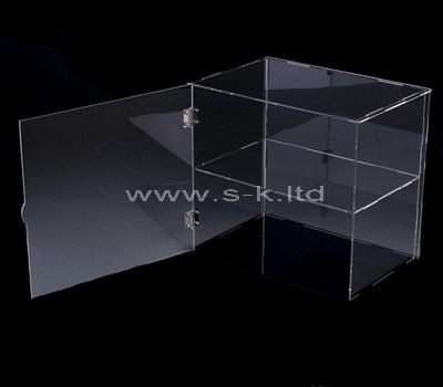 perspex clear display case
