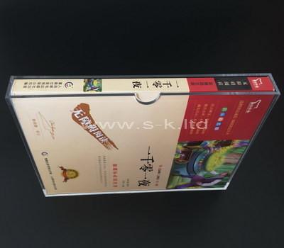 SKLD-360-1 clear book slipcase