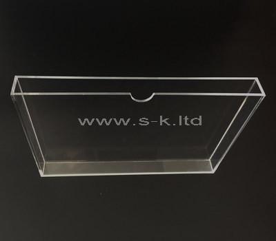 SKLD-360-2 clear book slipcase