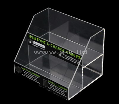clear acrylic counter top display case