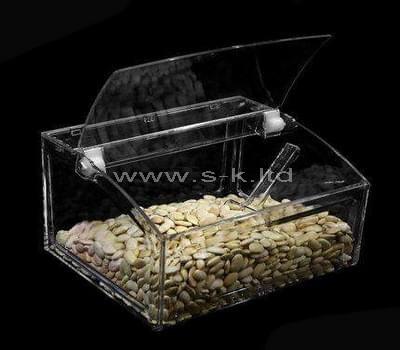large lucite box