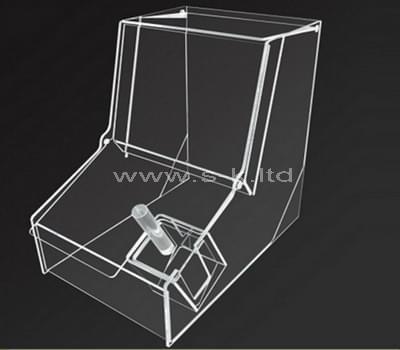 lucite storage box
