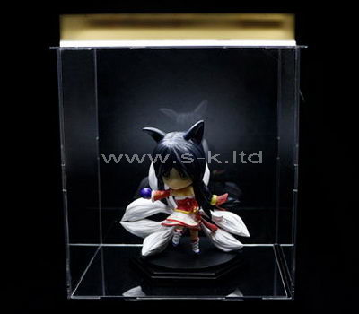 clear acrylic action figure display case