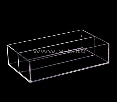 clear perspex box