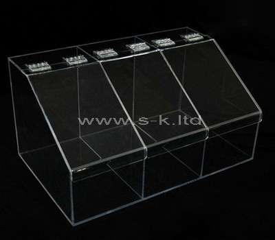 clear perspex box with lid