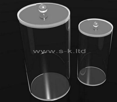 round acrylic box