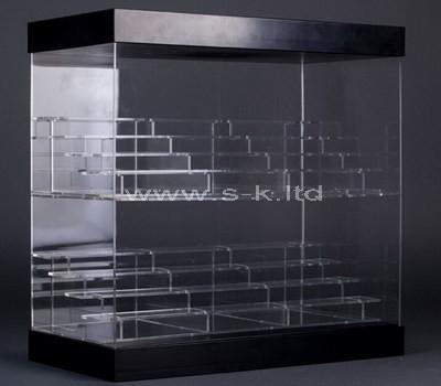 clear acrylic modern display cabinet