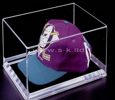 plastic hat display case