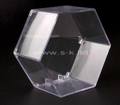 hexagon display box