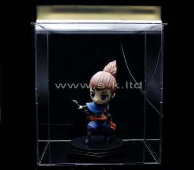 lucite figure display case