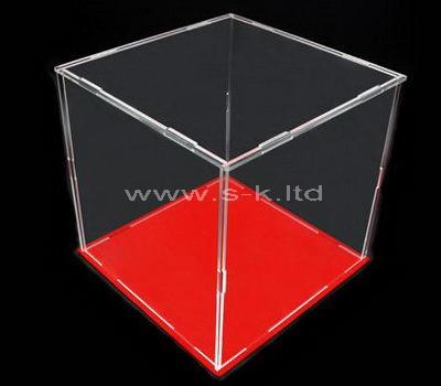 clear acrylic modern display case