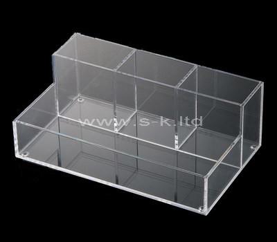 acrylic 4 compartment box