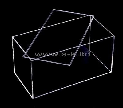 transparent perspex display box