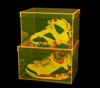 acrylic shoe box display