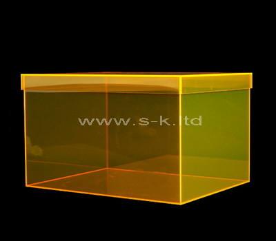 clear shoe box display