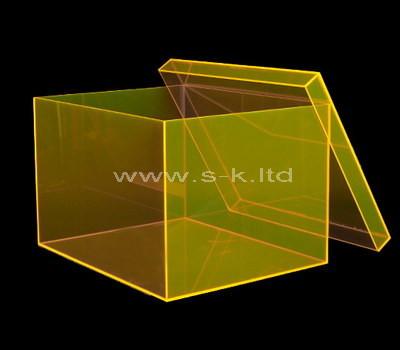 clear acrylic shoe display box