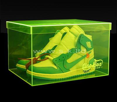 shoe box display case