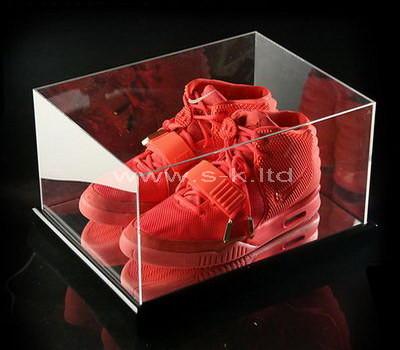 transparent shoe box