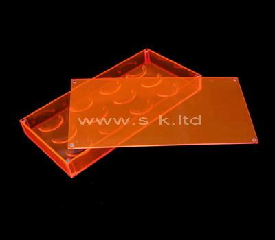 SKLD-492-2 Clear acrylic eyelash box