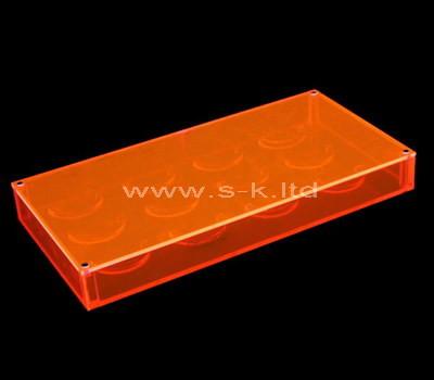 Clear acrylic eyelash box