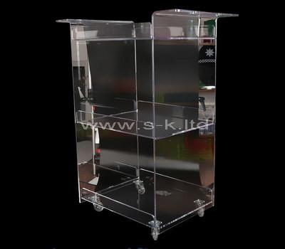 acrylic locking display cabinet