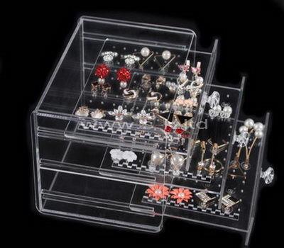 acrylic earring organizer case